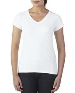 Gildan G47V - Ladies Tech Short-Sleeve V-Neck