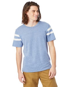 Alternative Apparel 12150E1 - Mens Eco Short-Sleeve Football T-Shirt