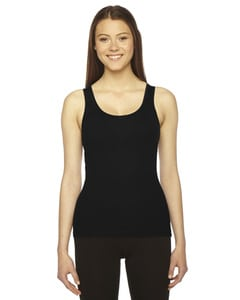 American Apparel AM3308 - Ladies Rib Boy Beater Tank