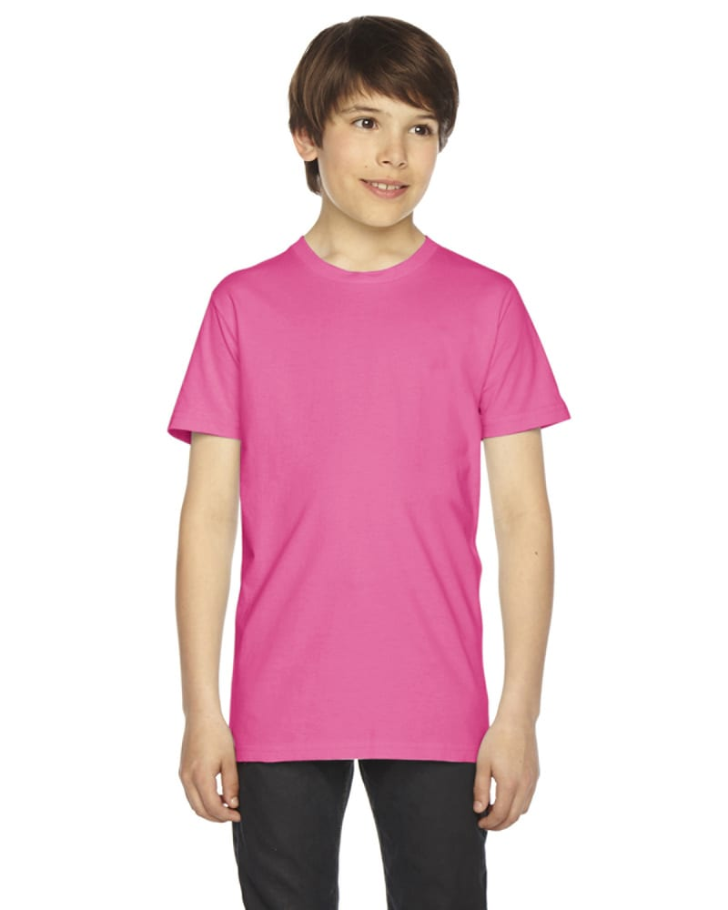 American Apparel 2201 - Youth Fine Jersey Short-Sleeve T-Shirt