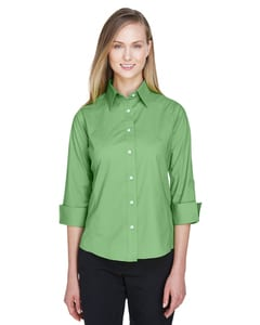 Devon & Jones DP625W - Ladies Three-Quarter Sleeve Stretch Poplin Blouse
