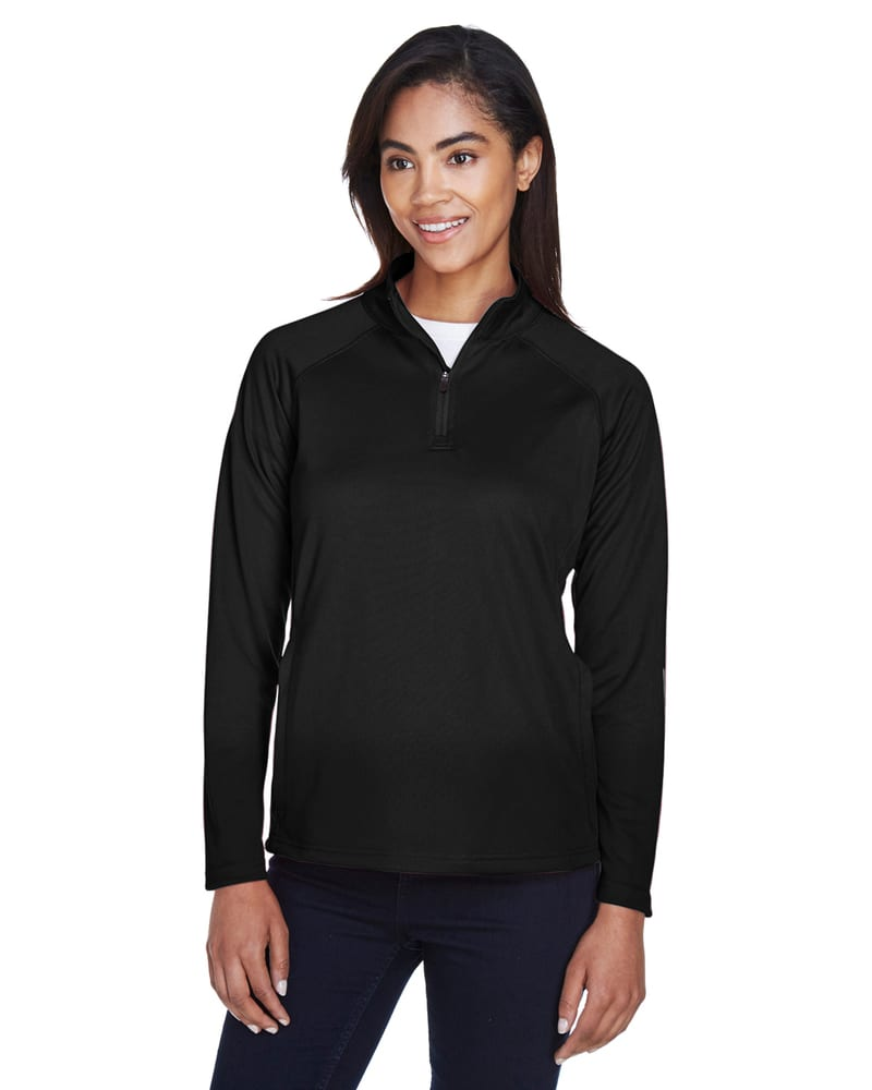 Devon & Jones DG440W - Ladies Stretch Tech-Shell® Compass Quarter-Zip