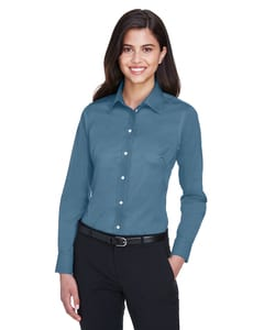 Devon & Jones DG530W - Ladies Crown Collection™ Solid Stretch Twill