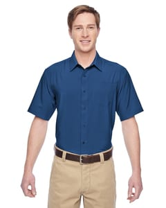 Harriton M610S - Mens Paradise Short-Sleeve Performance Shirt