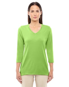 Devon & Jones DP184W - Ladies Perfect Fit Bracelet Length V-Neck Top