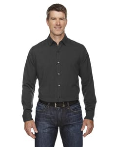 Ash City North End Sport Blue 88802 - Mens Mélange Performance Shirt
