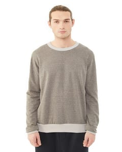 Alternative Apparel 09898E - Mens Eco-Mock Twist Ringer Champ