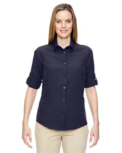 Ash City North End 77047 - Ladies Excursion Concourse Performance Shirt