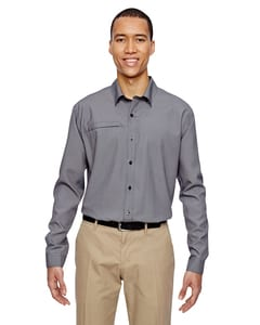 Ash City North End 87046 - Mens Excursion F.B.C. Textured Performance Shirt
