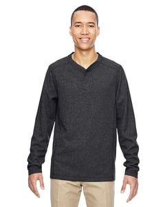 Ash City North End 88221 - Mens Excursion Nomad Performance Waffle Henley