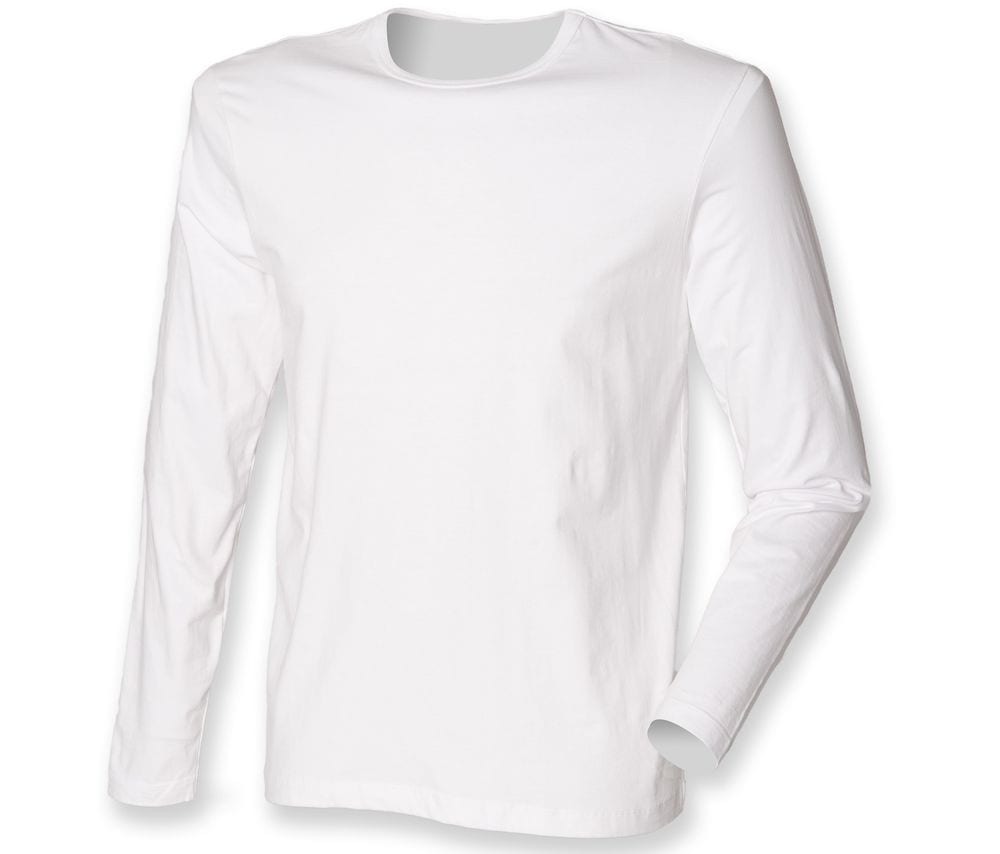 SF Men SF124 - Feel good long sleeved stretch t-shirt