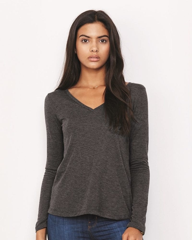 Bella + Canvas 8855 - Women's Flowy Long Sleeve Tee
