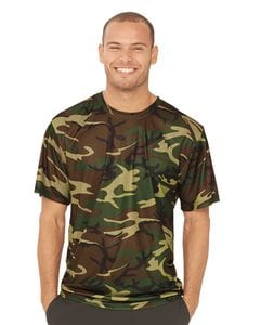 Code V 3983 - Performance Camo Short Sleeve T-Shirt