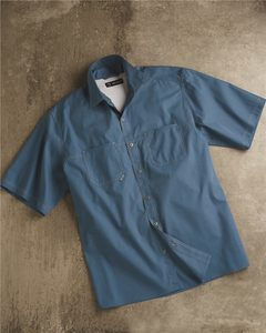 DRI DUCK 4357 - Guide Cotton Poplin Short Sleeve Shirt