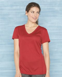 Gildan 47V00L - Tech Womens Performance V-Neck T-Shirt