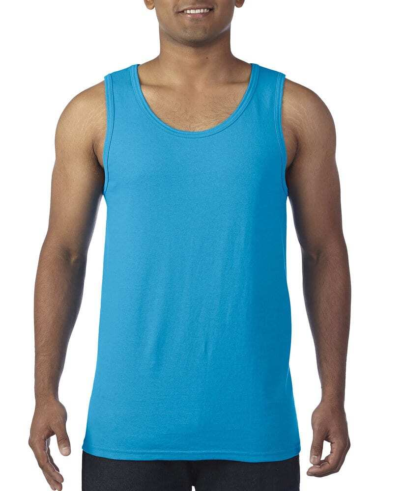 5200 Forest Green S Gildan Heavy Cotton Tank Top