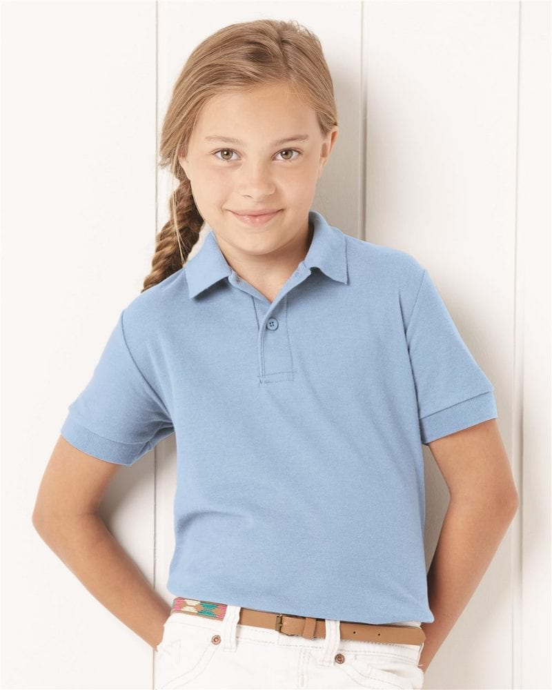JERZEES 537YR - Youth Easy Care Sport Shirt