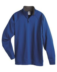 JERZEES PF95MR - 100% Polyester Fleece Quarter-Zip Cadet Collar Sweatshirt