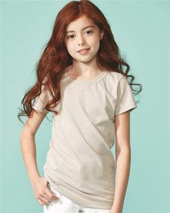 Next Level 3712 - Girls Princess CVC Tee