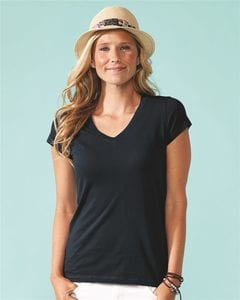 Next Level 6480 - Womens Sueded Short Sleeve V