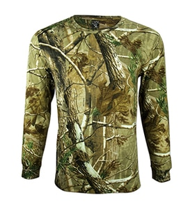 Code Five 3981 - Realtree Adult Camouflage Long Sleeve T-Shirt