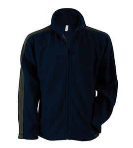 Kariban K910 - Adult Ben Bi-Color Outdoor Fleece Full-Zip Jacket
