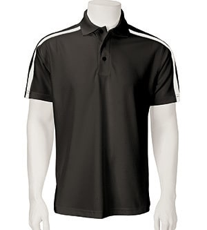 Paragon 113 - Men's Contrast Sleeve Stripe Performance Polo