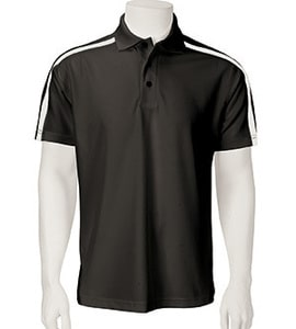 Paragon 113 - Mens Contrast Sleeve Stripe Performance Polo