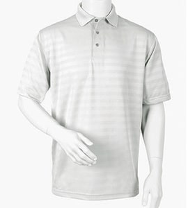 Paragon 115 - Mens Horizontal Tonal Texture Polo