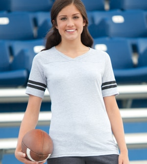 Soffe 239V - Juniors' Football Tee