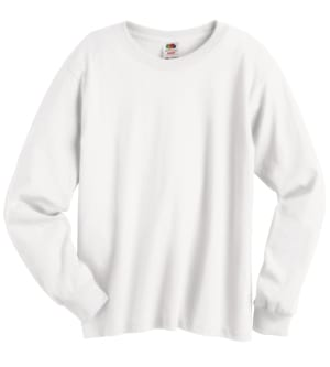 Fruit of the Loom 4930B - Heavy Cotton Hd Youth Long Sleeve Tee