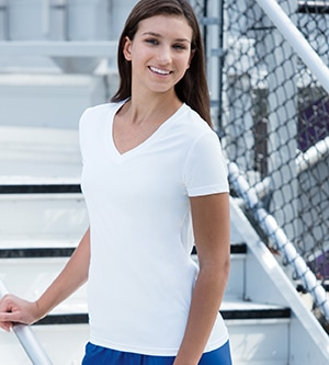Paragon 203 - Ladies' V-Neck Performance Tee