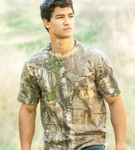Browning 30170724 - Wasatch Short Sleeve Camo Tee