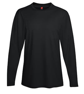 Hanes 482L - Adult Cool Dri Long Sleeve Performance Tee