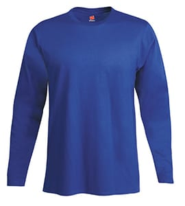 Hanes® Mens Nano-T® Cotton Long Sleeve T-Shirt