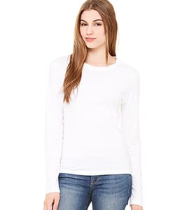 Bella+Canvas B6500 - Womens Jersey Long Sleeve Tee