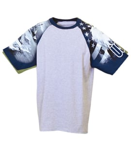 Everyday Life 100-25 - Navy Theme Print Tee