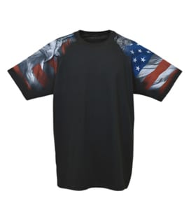 Everyday Life 400-04 - Patriotic Theme Print Tee