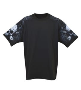 Everyday Life 400-47 - Skull & Crossbones Theme Print Tee