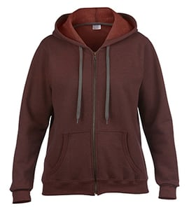 Gildan G18700FL - Heavy Blend Ladies Vintage Full Zip Hooded Sweatshirt
