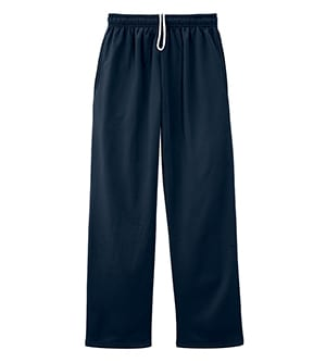 Jerzees PF974MP - Dri-Power Sport Adult Pocketed Open Bottom Sweatpant