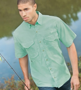 Hilton SSFISH - Outdoor By Short Sleeve Fishing Shirt