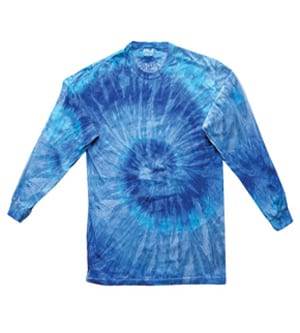 Colortone T2001Y - MULTI COLOR TIE DYE YOUTH LONG SLEEVE