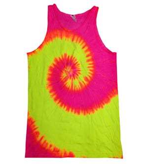 Colortone T3500 - TIE DYE TANK TOP