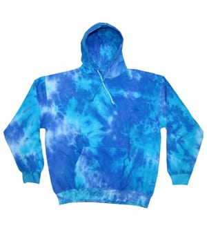 Colortone T8778 - MULTI COLOR TIE DYE ADULT HOOD