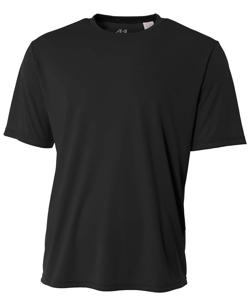 A4 N3142 - Men's Shorts Sleeve Cooling Performance Crew Shirt