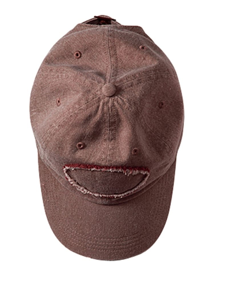 Authentic Pigment 1917 - Pigment-Dyed Raw-Edge Patch Baseball Cap
