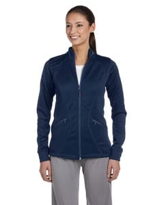 Russell Athletic FS7EFX - Ladies Tech Fleece Full-Zip Cadet