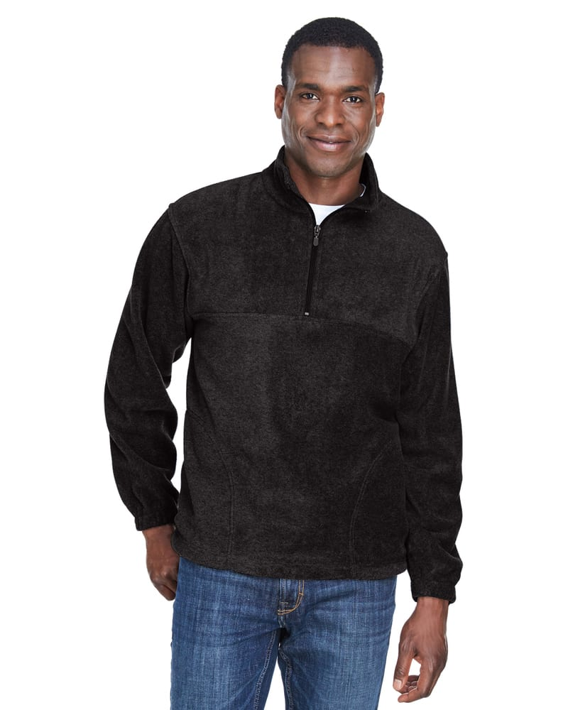 Harriton M980 - 8 oz. Quarter-Zip Fleece Pullover