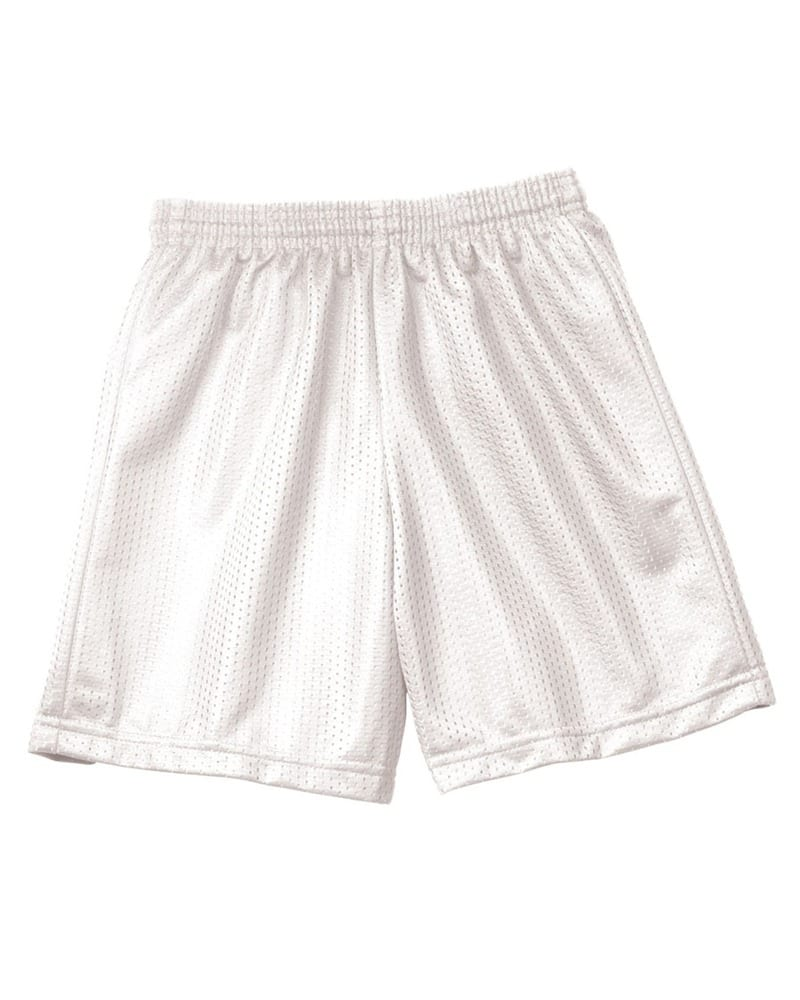 "A4 NB5301 - Youth 6"" Inseam Lined Tricot Mesh Shorts"